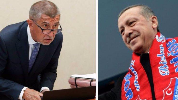 Babiš jede za Erdoganem: Chceme zpět 12 miliard, které Česko v Turecku investovalo