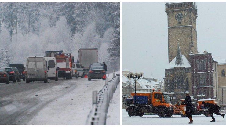 Sněhová smršť ochromila celé Česko: Ráno bude hůř, varují odborníci