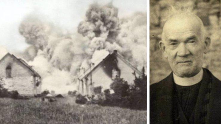77 let od vyhlazení Lidic: Symbolem hrdinství se stal starý kněz, který se nebál nacistů