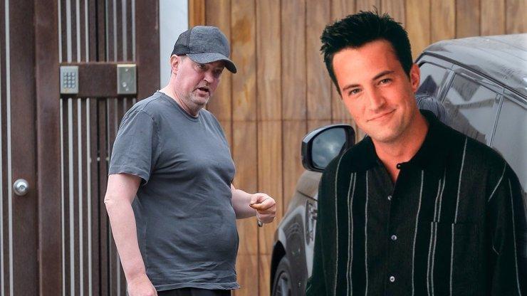 Matthew Perry děsí fanoušky svým vzhledem: Chandler z Přátel strašně sešel a přibral