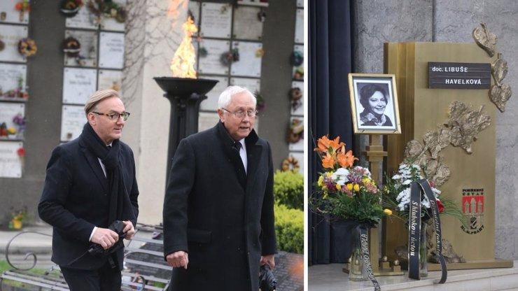 Ondřej Havelka a Jaroslav Satoranský dali poslední sbohem Libuši Havelkové
