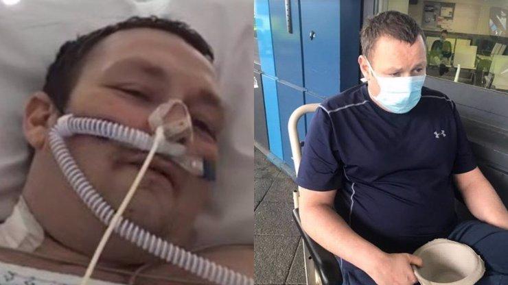 Muž v kómatu měl minimální šanci na přežití: Z koronaviru se uzdravil zázrakem