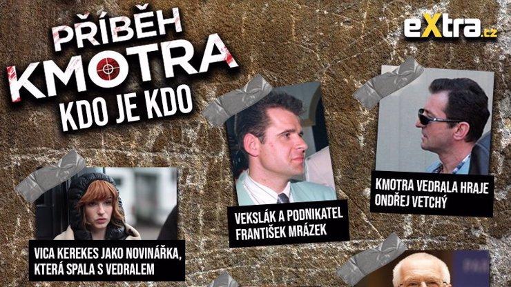 Velký přehled aktérů Příběhu kmotra: Kdo byl kdo v případu vraždy mafiána Františka Mrázka