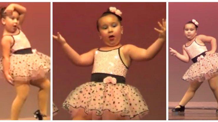 Tanec téhle neuvěřitelně šikovné holčičky pobavil na YouTube už miliony lidí. I vy si ho zamilujete!