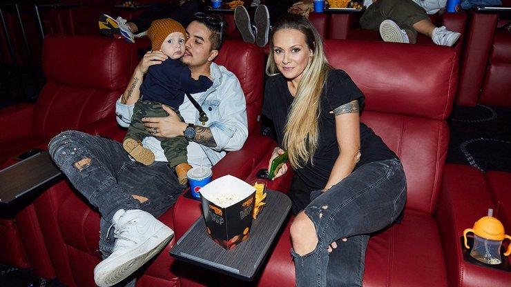 Martina Gavriely a Marcus Tran poprvé ukázali syna: Malého Leea vzali do kina