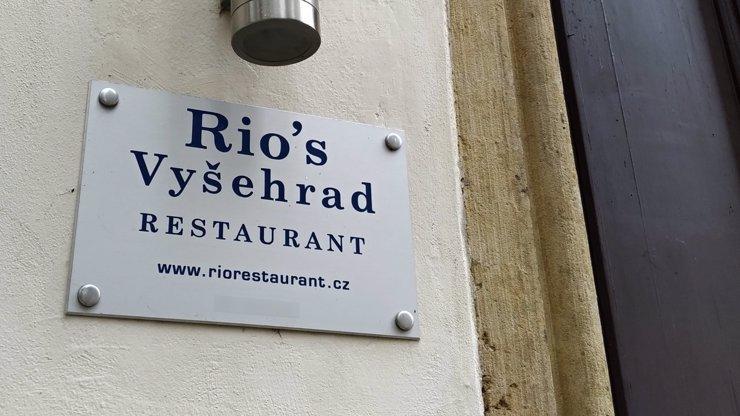 Majitel restaurace Rio's na Vyšehradě promluvil: Faltýnek není běžná veřejnost