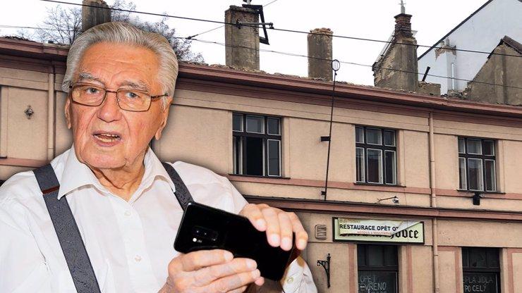 Zaskočený Josef Zíma (88): Bourají Vlachovku, která mu přinesla velkou televizní slávu