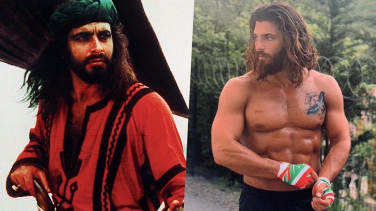 Sandokan se po 45 letech vrací na obrazovky: Piráta si zahraje pohledný Turek Can Yaman