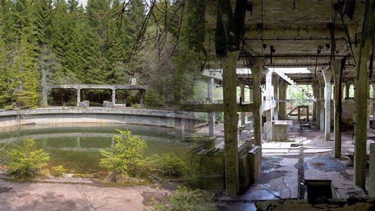 Tajemné místo v srdci Krušných hor obrazem: V bývalé nacistické továrně dřeli váleční zajatci