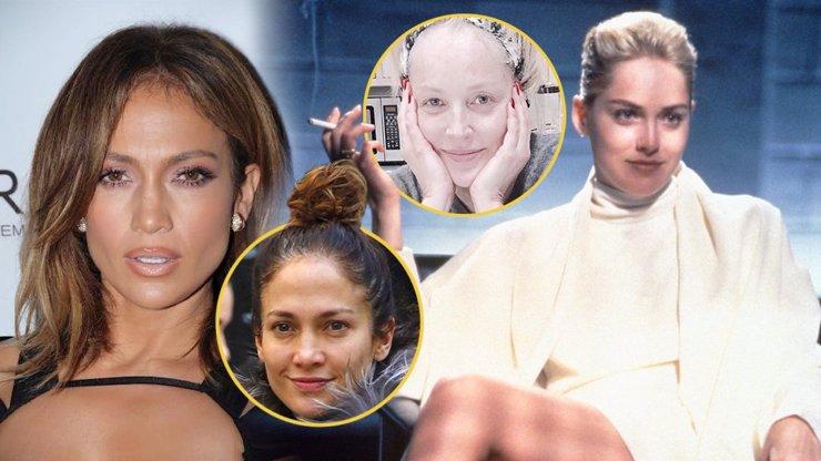 Sebrali jim make-up i Photoshop: Takhle vypadá 7 světových sexbomb doopravdy