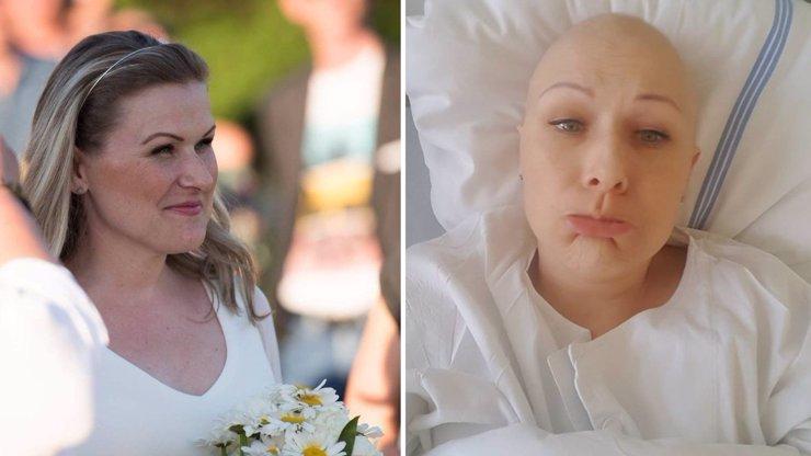 DOJEMNÉ FOTKY: Strachova kamarádka Saša (†38) ještě nedávno věřila, že rakovinu porazí!
