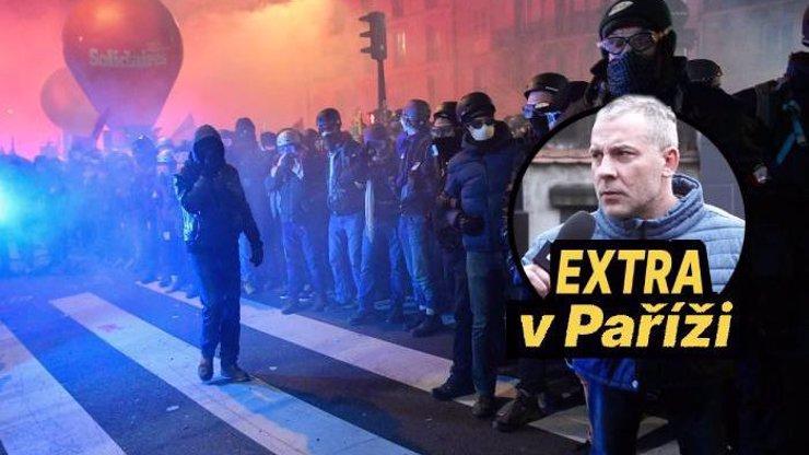 Aktuálně z Paříže: Obří stávka ve Francii, ohnivé peklo vystřídal klid před bouří