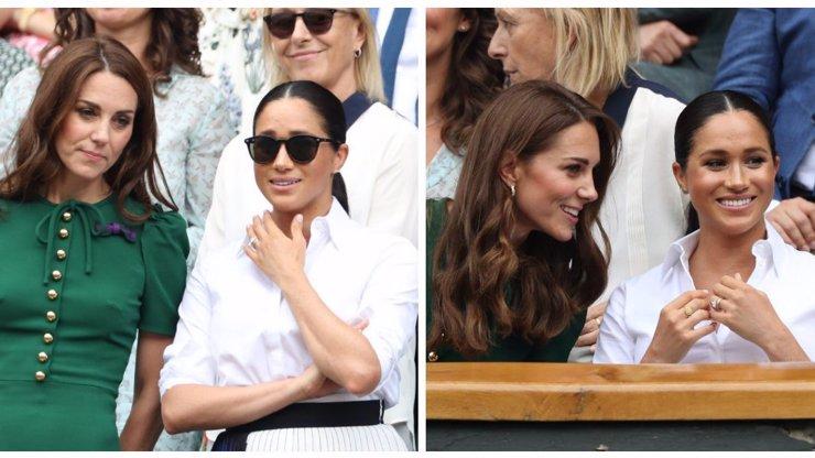 Kyselé obličeje vystřídal úsměv: Zakopaly Kate Middleton a Meghan válečnou sekeru?