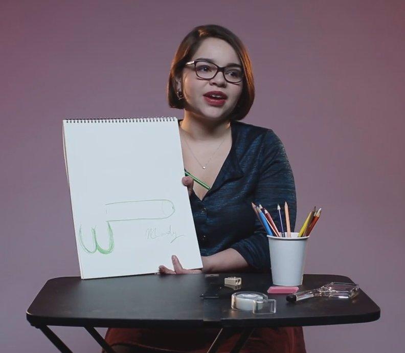 Ženy měly nakreslit, jak si představují ideální penis. Jak to dopadlo? Budete se divit!