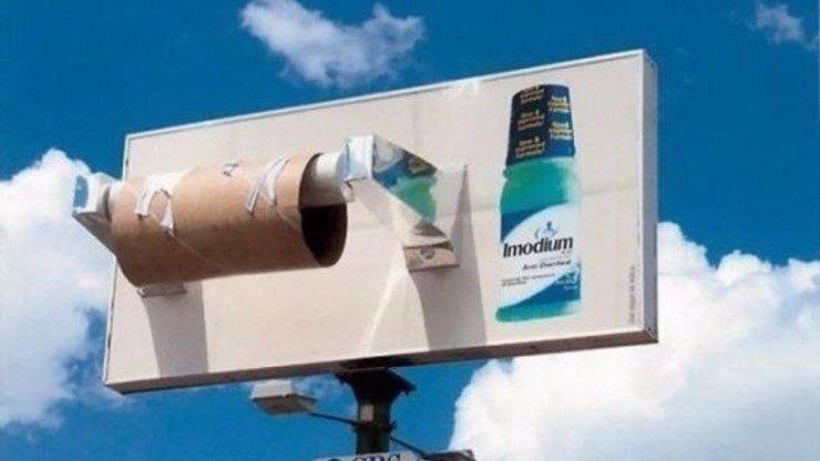 Nápadité reklamy jako důkaz geniality: Podívejte se na nejoriginálnější z nich!