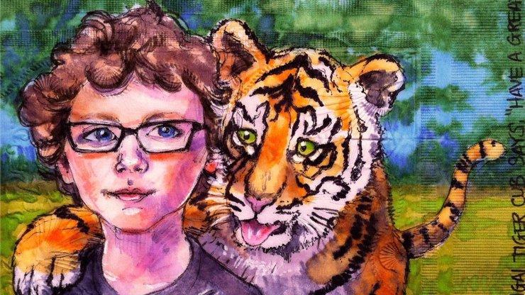 Super svačinky: Americká máma už sedm let maluje denně svým dětem dokonalé obrázky na ubrousky