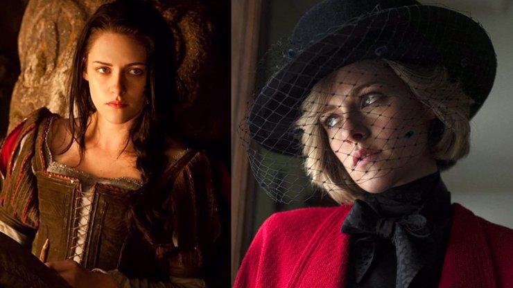 Sněhurka a lovec: Kristen Stewart se z pobledlé princezny proměnila v okouzlující lady Di