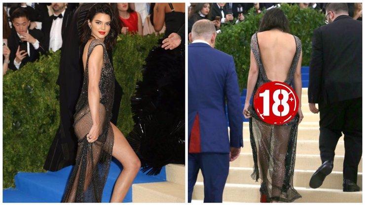Nový módní trend podle Kendall Jenner! Nenosí nic, ani spoďáry