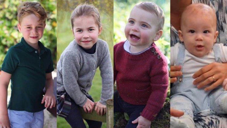 Proměna královských dětí: Takhle budou George, Charlotte, Louis a Archie vypadat za 20 let