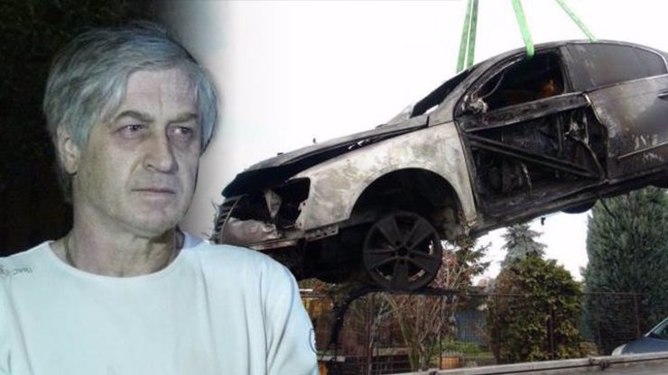 Zapálené auto vdovce po Ivetě Bartošové: Policie prověřuje i přímo Josefa Rychtáře