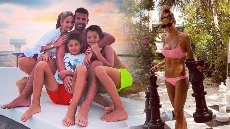 Milan Baroš vzal rodinu na luxusní dovolenou na Maledivy: Takhle si užívají ráj na zemi