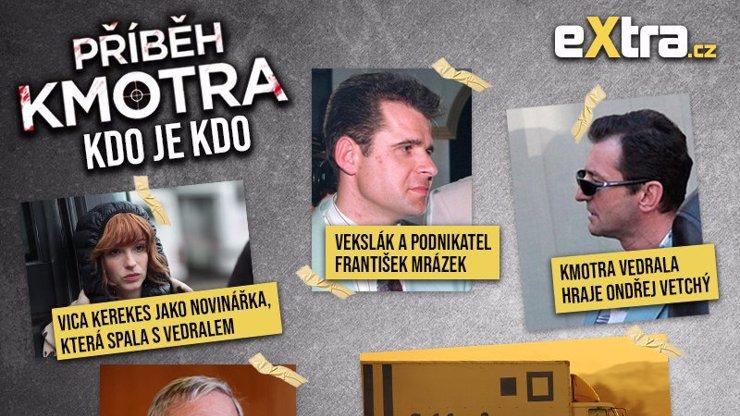 Kdo je kdo v Příběhu kmotra: Velký přehled aktérů vraždy mafiána Františka Mrázka
