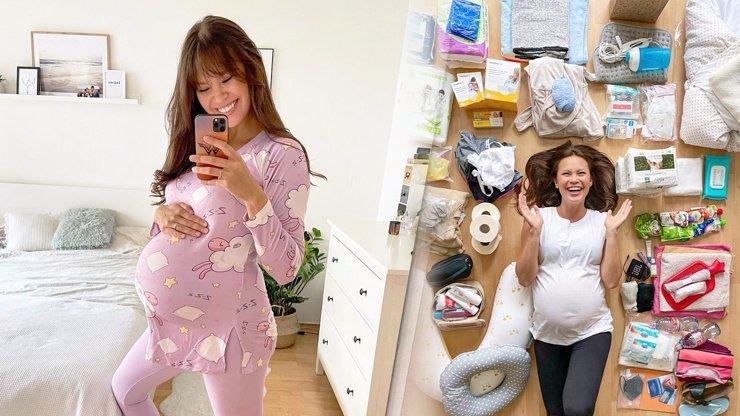 Těhotná Monika Leová překvapila obří výbavičkou do porodnice: Sbalila i manžela