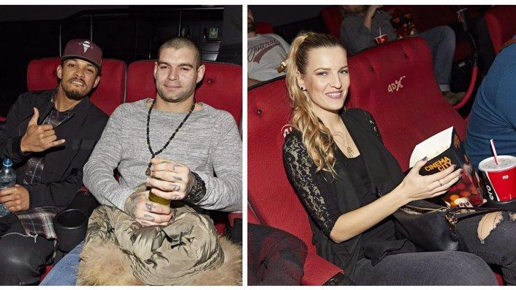 Ben Cristovao a Veronika Chmelířová se sešli v kině!