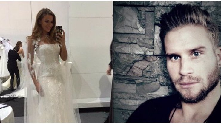Sexy Inna Puhajková ve svatebních šatech: Řekne snad vytoužené