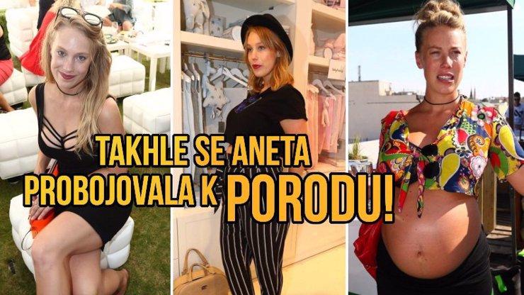 Těhotenství Anety Krejčíkové: Nejdřív tajnosti, 20 kg nahoře a před porodem nepřetržitý pláč!