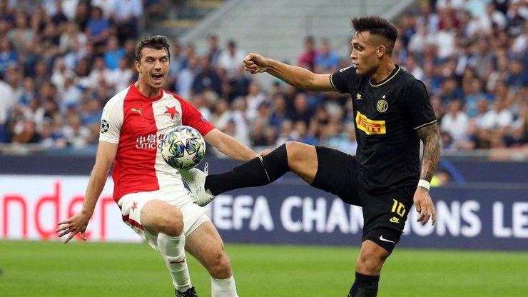 Bod na úvod Ligy mistrů: Slavia remizovala v Miláně 1:1