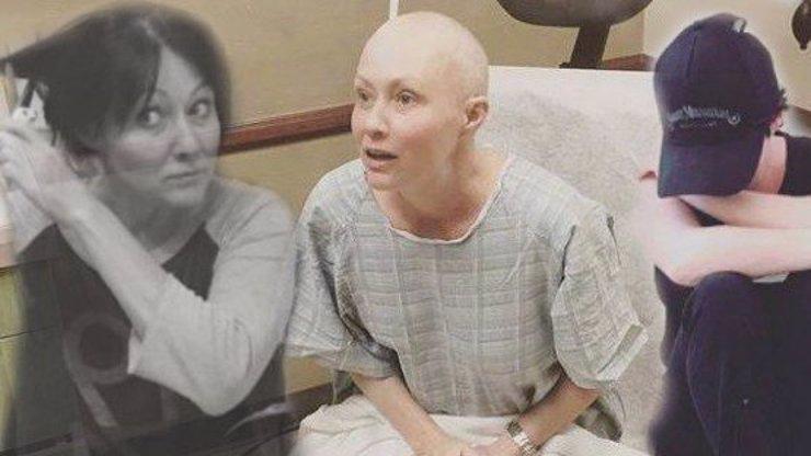 Křik, bolest i slzy štěstí: Takhle vypadal první boj Shannen Doherty s rakovinou prsu