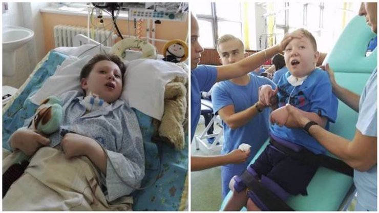 Adámka nechali v nemocnici téměř vykrvácet: Malý kluk se potýká se strašlivými problémy