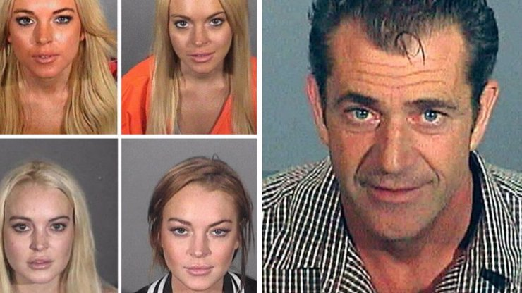 10 celebrit a jejich slavná zhroucení, průšvihy a pobyty ve vězení
