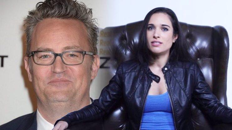 Chandler z Přátel se bude ženit: Matthew Perry a Molly Hurwitz se zasnoubili