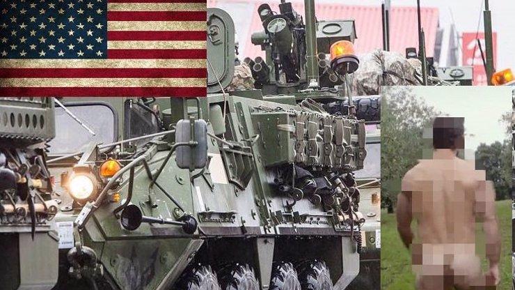 Průjezd amerického konvoje ukázal tupost českého národa! Nechyběl ani holý zadek!
