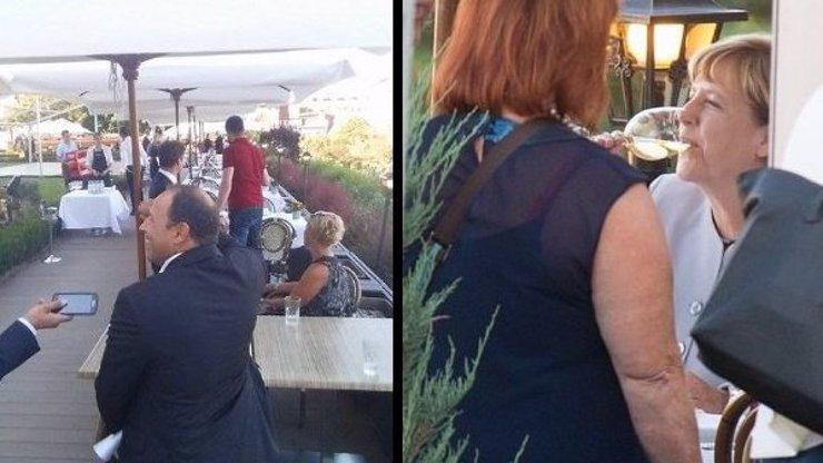 EXKLUZIVNĚ NA EXTRA.CZ: Jak jsme fotili Angelu Merkel při večeři? Zcela jednoduše! Jako by to byla obyčejná turistka z Německa