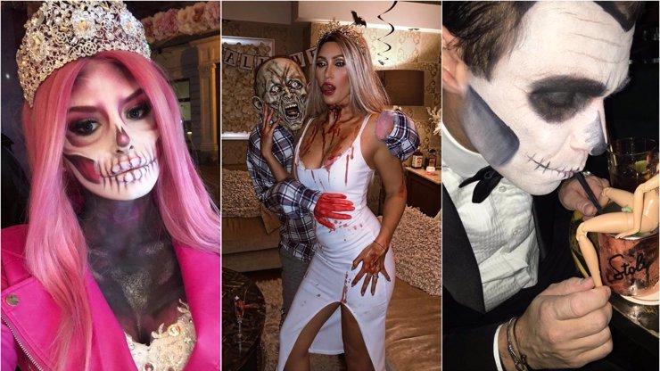 Plačková, Kerndlová i Mareš: Jak se hvězdy vyparádily na Halloween?