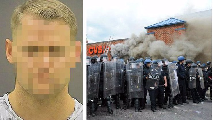 Policisté v Baltimoru brutálně útočí na ta nejcitlivější místa! Koušou muže do varlat!