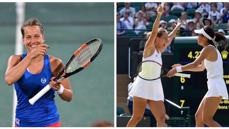 Bára neskutečně zaválela: Strýcová zakončila fantastické tažení Wimbledonem titulem