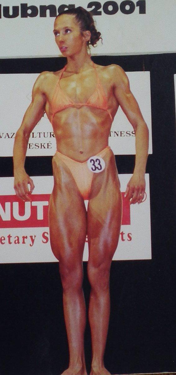 Kulturistka Věra Mikulcová: Takhle vypadala, když začínala, pak přišly steroidy