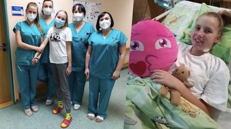 Barunka (13) kvůli covidu bojovala o život: Nemocnice v Česku léčí desítky dalších dětí