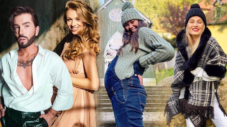 Budoucí maminky očima stylisty: Ladná Kašáková, chytrá horákyně Leová a mimózní Fajksová