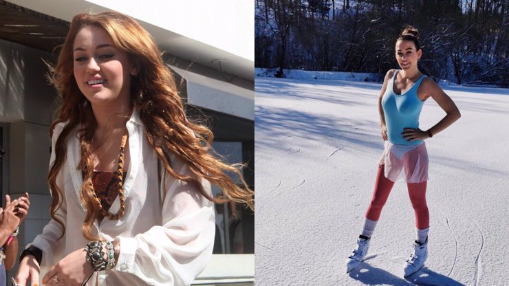Krasobruslařka Agáta Hanychová: Vypadáš jako Miley Cyrus zamlada, reagují fanoušci