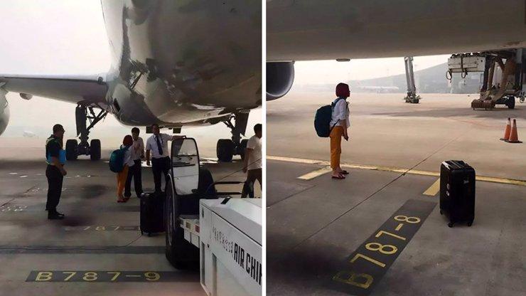 Dvojice ohrozila let! Zadržela letadlo až na runwayi. Proč to proboha udělala?