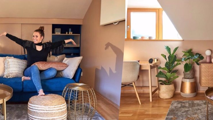 Ewa Farna si pod stromeček nadělila nové bydlení: Skladiště proměnila v luxusní zašívárnu