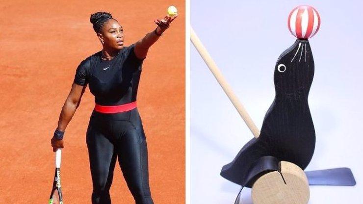 Lachtan, nebo Batman? Víme, proč Serena Williams v boji s Plíškovou vytáhla neoprén