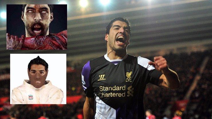 Z fotbalisty-kanibala Suáreze je hit internetu! A to si jen ukousl kus ramene spoluhráče...