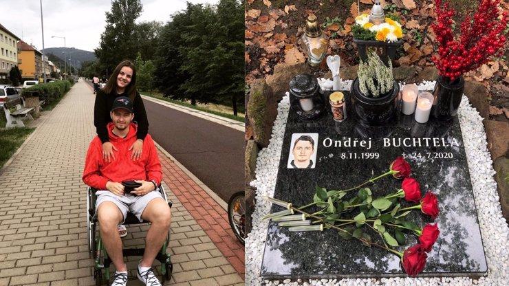 Čtvrt roku od smrti hokejisty Ondry Buchtely (†20): Hrob obsypaný květinami a dojemná slova