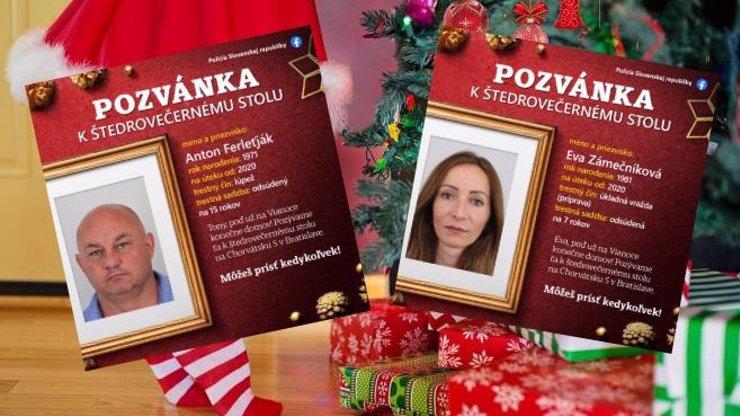Policie zve zločince k vánoční večeři: U stolu chtějí i Češku a účastníka VyVolených